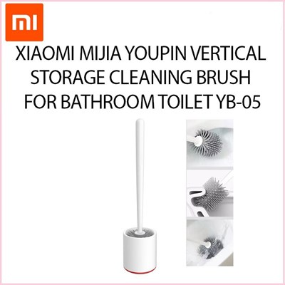 Xiaomi YB-05 Toilet Cleaning Brush High TPR Soft Rubber PP Plastic Brush for Bathroom Toilet Floor