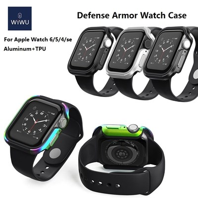 WiWU Defense armor Apple Watch case Military level shockproof metal aluminium 44mm