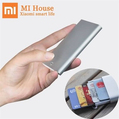 Xiaomi Youpin MIIIW Credit Card Case Stainless Steel Silver Card Holder Women Men ID Card Case Pocke