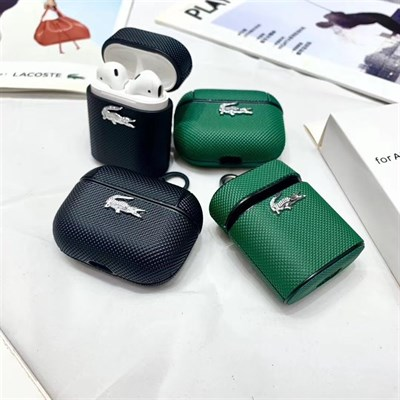Apple Airpods, Airpods Pro Protective Cover Lacoste Crocodile Case