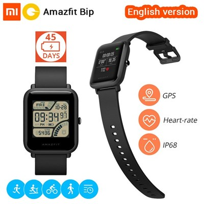 Amazfit BIP Lite Starter Smartwatch with 45 Days Battery Life - English version