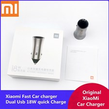 Mi 18W Car Charger Pro Version Fast Charging