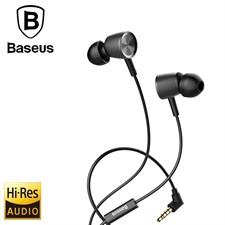 Baseus H07 Hi-Res Audio In-ear Wired Earphone Bass Sound Earbuds with Mic for 3.5mm Interface Device