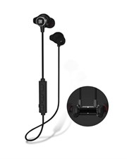 Bluetooth Headphones, Remax RB-S7 Best Wireless 4.1 Sports Earphones with Mic, Magnetic Earbuds, IPX