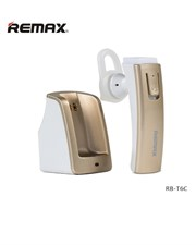 Original Remax RB-T6C Car Holder Charger Wireless Bluetooth 4.0 Headphone Earphone