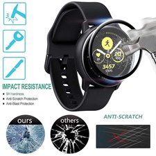 3D Tempered Glass for Samsung Galaxy Watch Active 2 40mm,44mm Screen Protector Film Full Coverage Pr