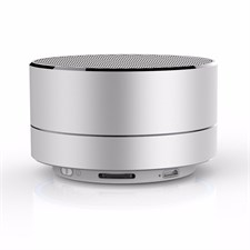 X2000 N6 Minimalist Style Reflective Light Bluetooth Speaker - Silver