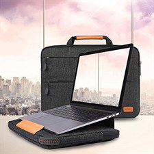 WIWU 15.4 Inch Laptop Sleeve Case Protective  Bag (15.4 inch|Black)