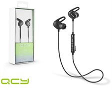 QCY E2 V4.2 Bluetooth Earphone - BLACK