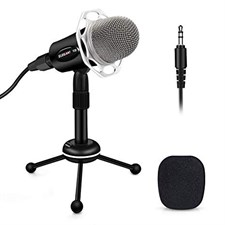 Yanmai Y20 360 Degrees Gaming Podcast Omni Directional Condenser Microphone
