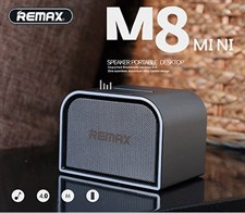 Remax RB-M8 mini Metallic Bluetooth Desktop Portable Speaker with mic