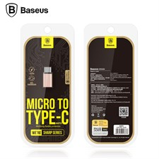 Baseus Micro to Type-C Adapter - Rose Gold