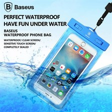 Baseus 5.5 inch Universal Phone Waterproof Case Pouch Bag for IPHONE X 8 7 6 6s Plus Samsung S6 S7 E