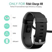 Charging Cable for Fitbit Charge HR - Black	1