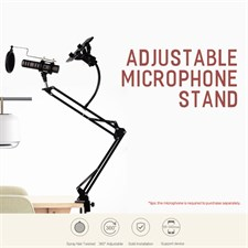 Rock Adjustable Microphone Stand