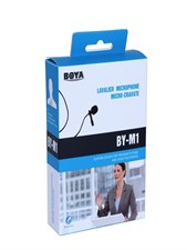 BOYA BY M1 CLIP ON MIC FOR PHONE DSLR PC