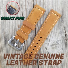 22MM Watch Leather Strap