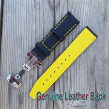 22MM Watch Leqather Strap