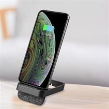 K8 10W VERTICAL WIRELESS CHARGING CHARGER FOR IPHONE XR / XS MAX / GALAXY S9+ / S9 / HUAWEI MATE 20