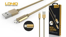 LDNIO LC88 Data Charging 2 in 1 USB Cable
