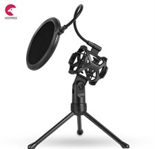 Yanmai Custom Microphone Stand with Pop Filter HR121-PS2 (No Microphone Only Stand)