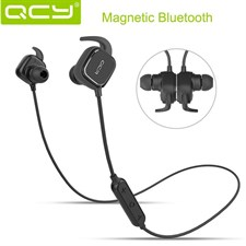 QCY QY12 PRO MAGNETIC ADSORPTION STEREO WIRELESS BLUETOOTH 4.1 HEADPHONE
