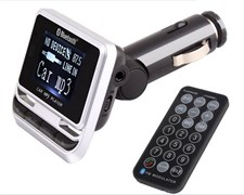 Electronic New FM12B 12v/24/v 4G Bluetooth Car MP3 Player FM Transmitter with Remote Control Support
