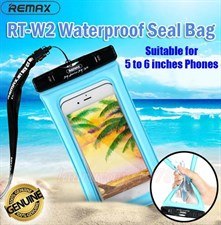 Remax RT-W2/Plus Waterproof Seal Bag Underwater Swimming Bag Floatable