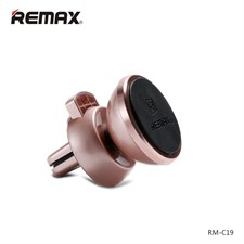 REMAX C19 360 Degree Rotation Magnetic Car Air Vent Mount Holder for iPhone Samsung Xiaomi Huawei