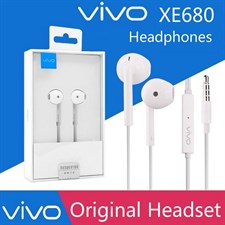 100% ORIGINAL VIVO XE680 3.5MM JACK EARPHONE WITH MIC
